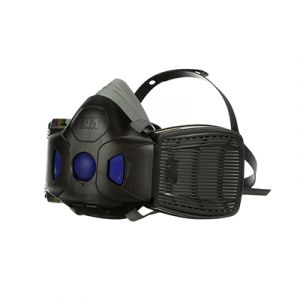 3M Secure Click Επαν. Μάσκα Μισού Προσώπου με Διάφραγμα Ομιλίας HF-802SD, Medium